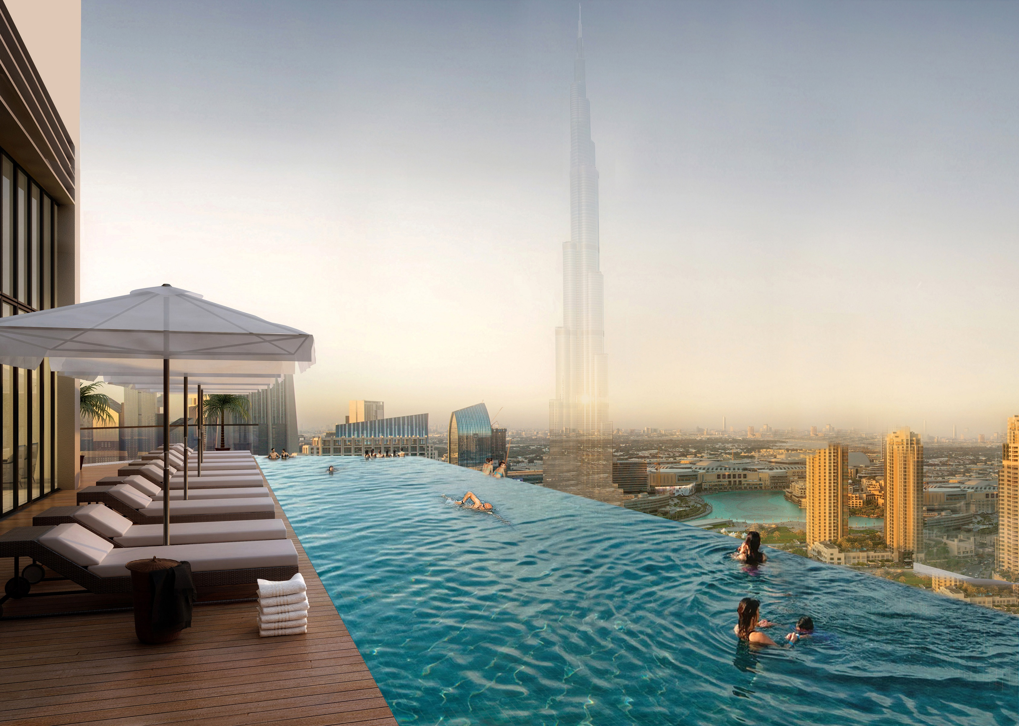 Cheapest Deal In Paramount Tower Hotel Amp Residence